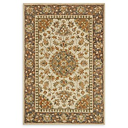 Loloi Rugs Victoria Handcrafted Rug in Ivory/Charcoal