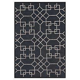Loloi Rugs Panache Geometric Rug in Charcoal/Silver