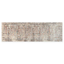 Loloi Rugs Javari 2'6 x 10' Runner in Ivory/Granite