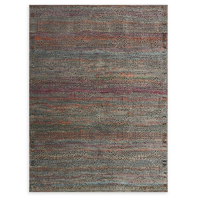 Alternate image 1 for Loloi Rugs Javari 2'6 x 4' Accent Rug in Charcoal/Sunset
