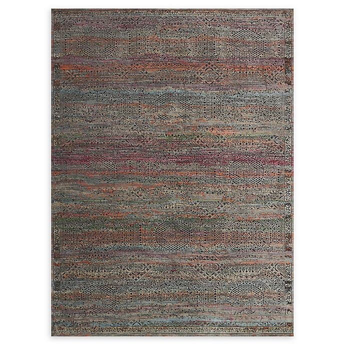 Alternate image 1 for Loloi Rugs Javari 5'3 x 7'4 Area Rug in Charcoal/Sunset