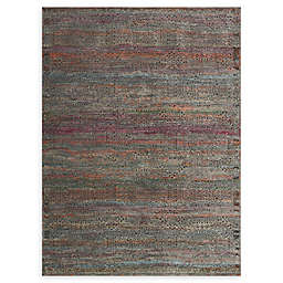 Loloi Rugs Javari 7'10 x 10' Area Rug in Charcoal/Sunset