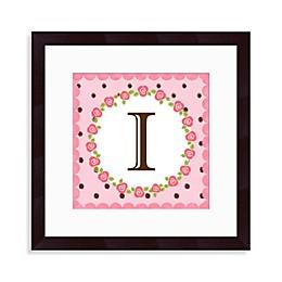 Monogram Rose Initial \