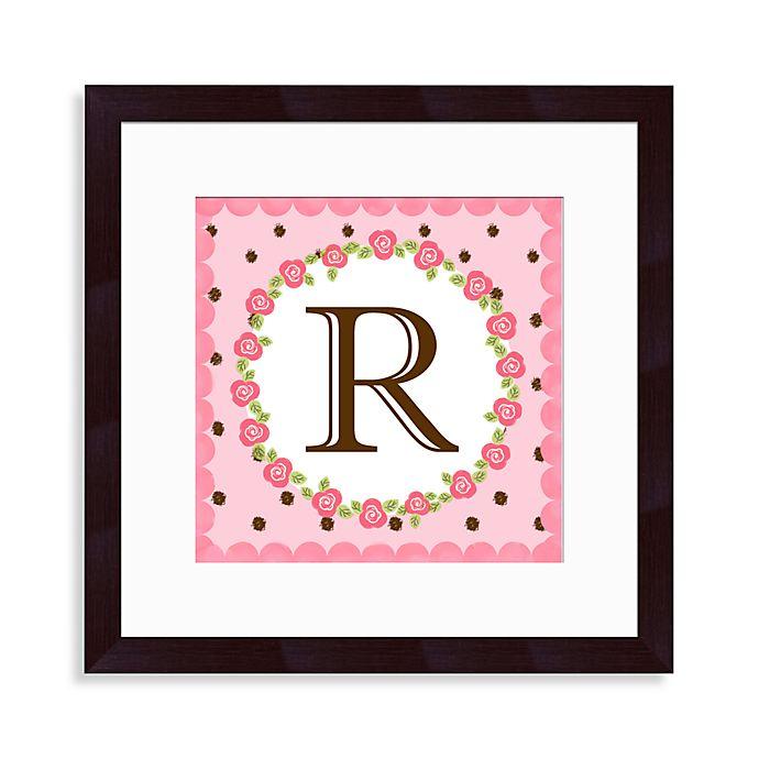 Alternate image 1 for Monogram Rose Initial \