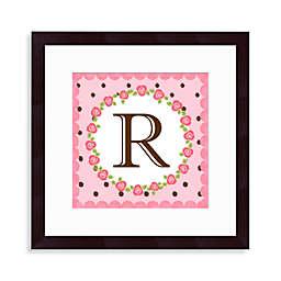Monogram Rose Initial