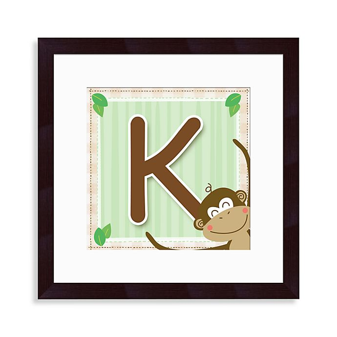 Alternate image 1 for Monogram Monkey Initial \