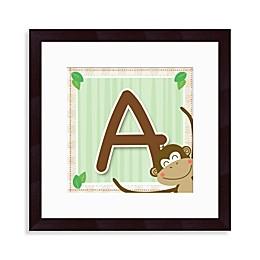 Monogram Monkey Initial \