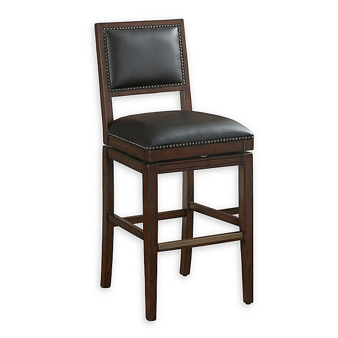 Alternate image 1 for American Heritage Billiards Riley Bar Stool in Sable