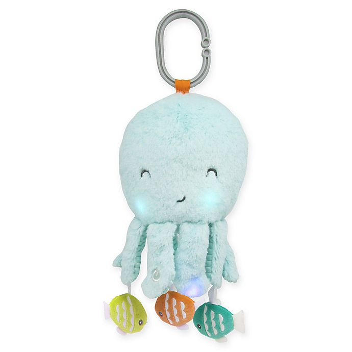 Alternate image 1 for carter's® Octopus On-The-Go Soother in Turquoise