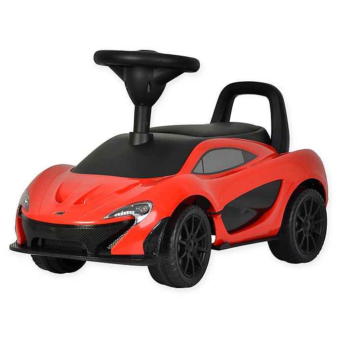 Alternate image 1 for Best Ride On Cars® McLaren Push Car in Red