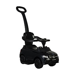 Best Ride on Cars® Mercedes 3-in-1 Push Car in Black