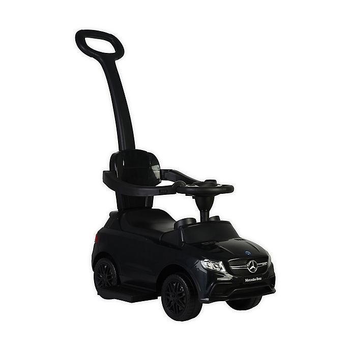 Alternate image 1 for Best Ride on Cars® Mercedes 3-in-1 Push Car in Black