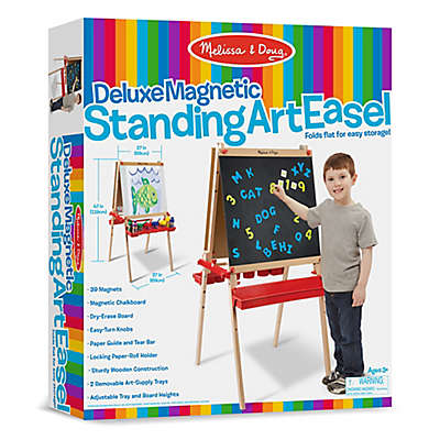 Melissa & Doug® Deluxe Magnetic Standing Art Easel