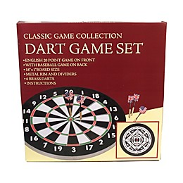 John N. Hansen Co. Classic Game Collection Dart Game Set