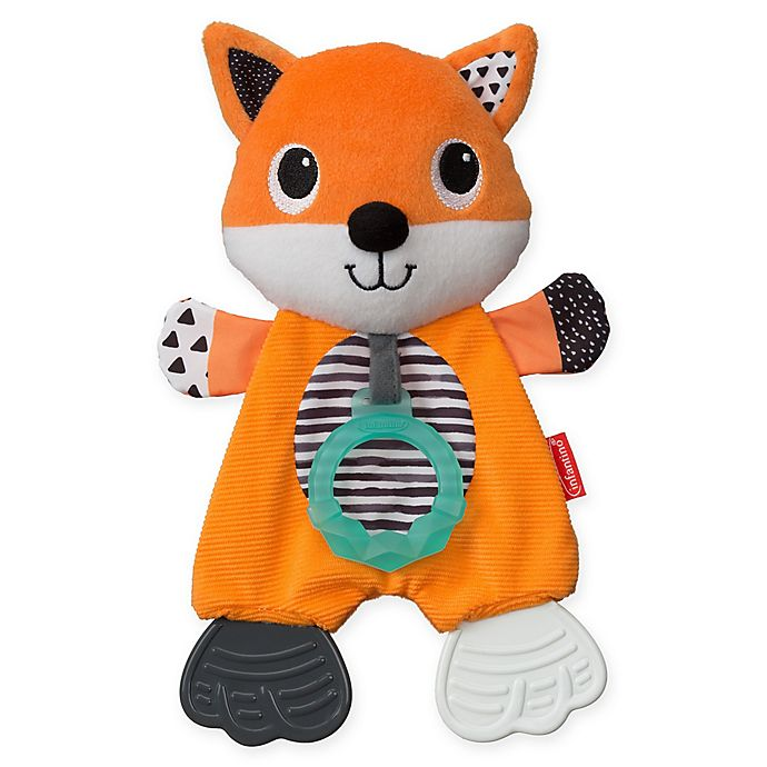 Alternate image 1 for Infantino® Cuddly Teether™ Fox