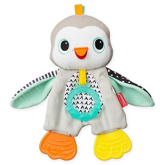 Alternate image 1 for Infantino® Cuddly Teether™ Penguin