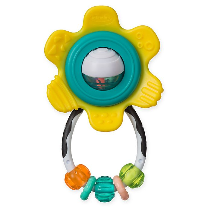 Alternate image 1 for Infantino® Spin & Rattle Teether