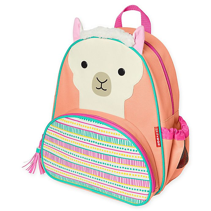 Alternate image 1 for SKIP*HOP® Signature Zoo Character Llama Backpack