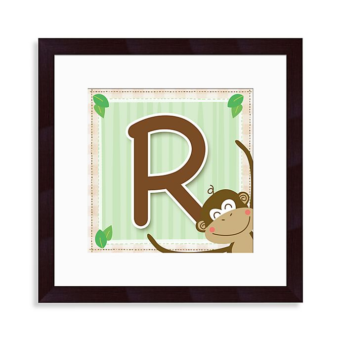 Alternate image 1 for Monogram Monkey Initial \