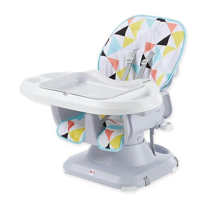 Alternate image 1 for Fisher-Price® SpaceSaver High Chair in White