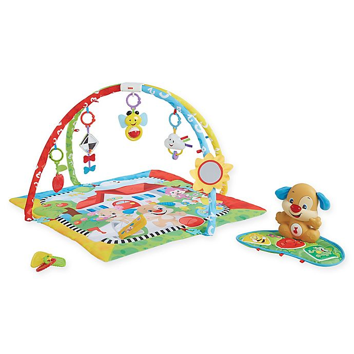 Alternate image 1 for Fisher-Price® Puppy 'n Pals Learning Gym