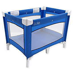 LA Baby® Portable Playard in Blue