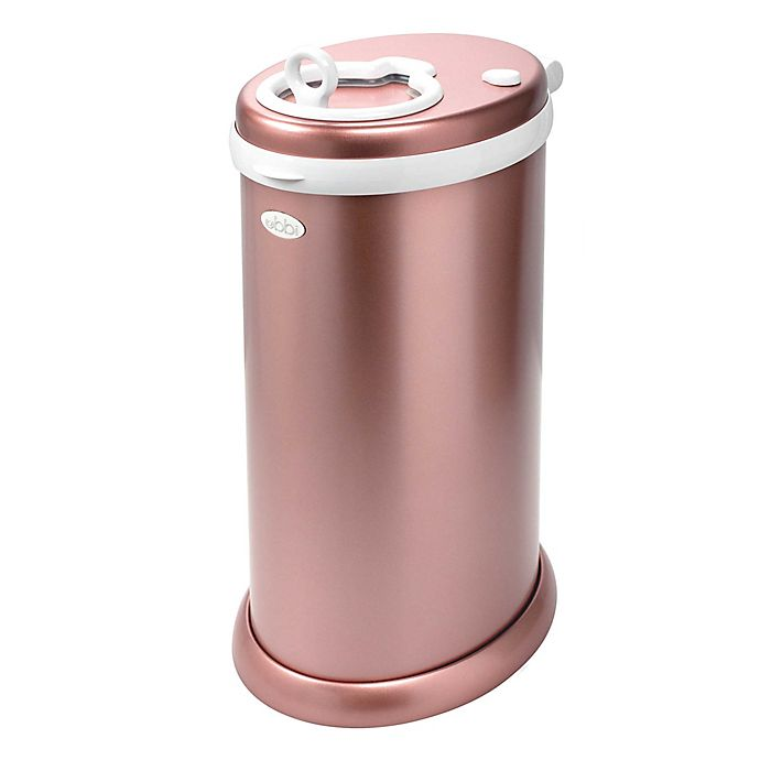 Alternate image 1 for Ubbi® Diaper Pail in Rose Gold