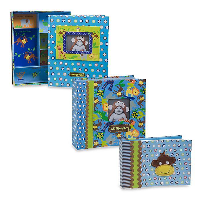 Baby Essentials Monkey Memory Book Photo Album And Brag Book Bed