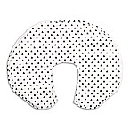 The Peanut Shell® Black Triangle Nursing Pillow with Cover