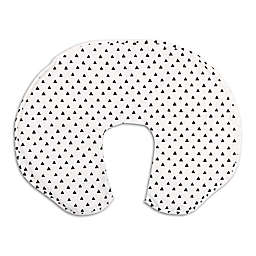 The PeanutShell™ Black Triangle Nursing Pillow with Cover