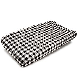 Liz and Roo Black and White Mix and Match Changing Pad Cover