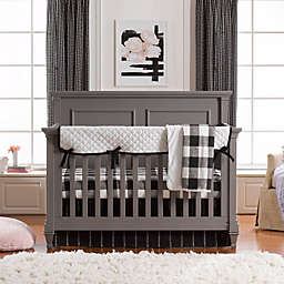 Liz and Roo Black and White Mix and Match Crib Bedding Collection