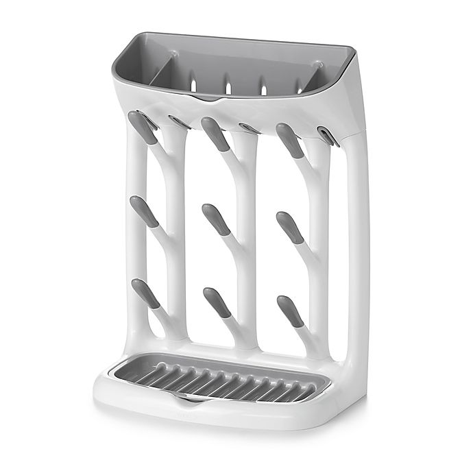 Alternate image 1 for OXO Tot® Space Saving Drying Rack in Grey