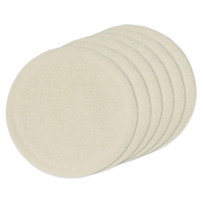Alternate image 1 for Dr. Brown's® 6-Pack Rachel's Remedy Washable Breast Pads in White