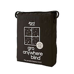 Gro Anywhere Blind® Stars and Moon Portable Blackout Blind