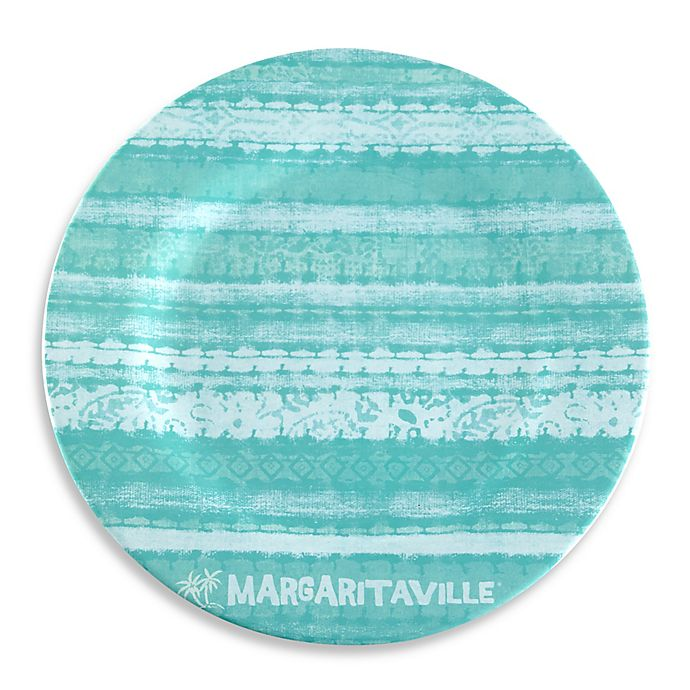 Alternate image 1 for Margaritaville® Tie Dye Dinner Plate in Blue