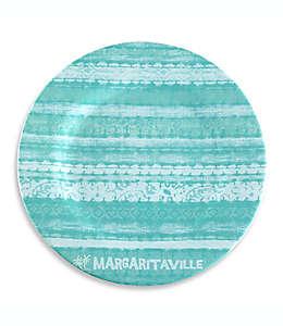 Plato trinche Margaritaville® Tie Dye en azul