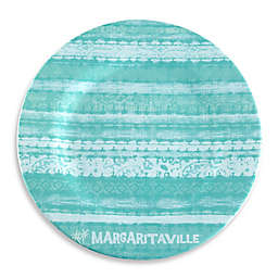 Margaritaville® Tie Dye Dinner Plate in Blue