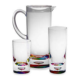 Bubble Bottom Drinkware Collection in Rainbow