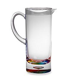 Bubble Bottom Pitcher in Rainbow