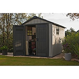 Keter Oakland 7511 Outdoor Storage Shed in Grey