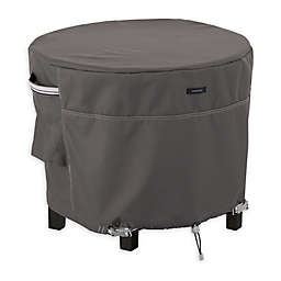 Classic Accessories® Ravenna® Round Ottoman/Table Cover in Dark Taupe
