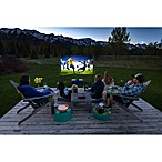Outdoor Home Theater Projector and Screen