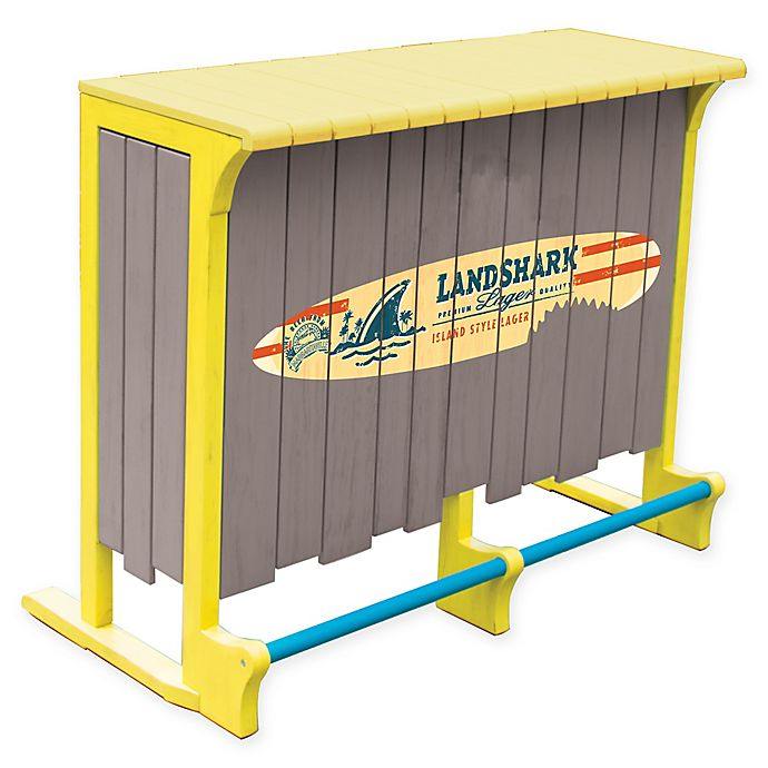 Alternate image 1 for Margaritaville LandShark Bar with Bottle Opener in Yellow/Grey