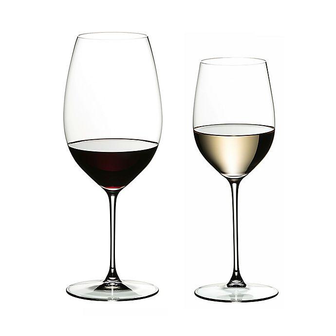 Alternate image 1 for Riedel® Veritas Chardonnay/Cabernet Wine Glasses Buy 6 Get 8 Value Set