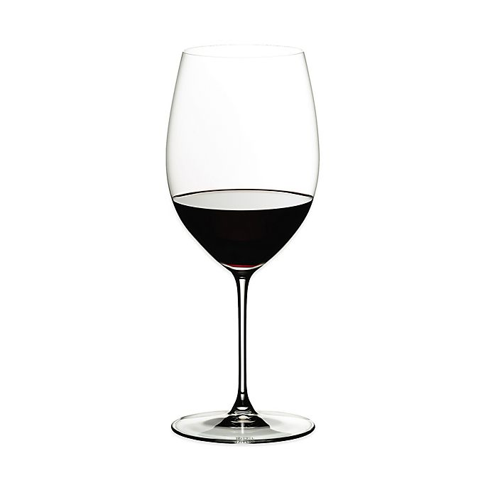 Alternate image 1 for Riedel® Veritas Cabernet/Merlot Wine Glasses (Set of 2)