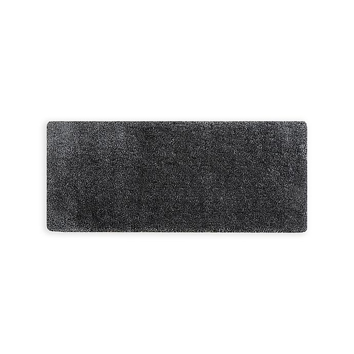 Alternate image 1 for Madison Park Signature 24-Inch x 60-Inch Grande Solid Tufted Bath Mat in Grey