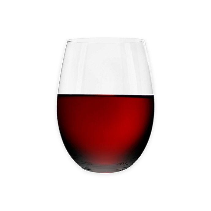 Alternate image 1 for Riedel® O Cabernet/Merlot Stemless Wine Glasses Buy 3 Get 4 Value Set