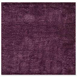 "Safavieh Colorado Shag 6'7"" x 6'7"" Aspen Rug in Purple"