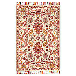 Loloi Rugs Zharah Area Rug in Berry